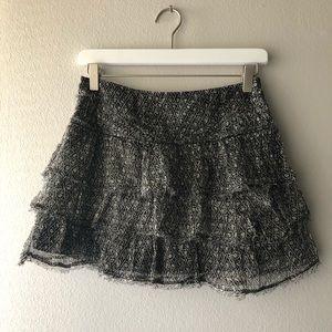ZADIG & VOLTAIRE silk mini skirt